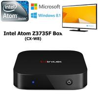 MINI PC Windows 8.1 OS Intel Quad Core Smart TV Box Atom Z3735F Mini Computer 2GB/32GB Intel HD Graphic GPU With Bluetooth HDMI