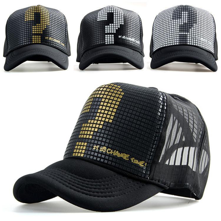 Snapback mesh baseball outdoor summer sports hat trucker cap me