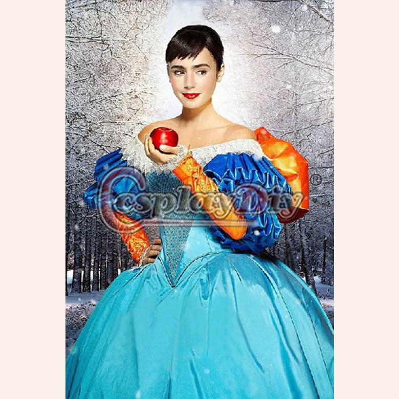 Snow White Mirror Mirror Costume Custom Made Deluxe Mirror Mirror Untold Adventures of Snow White Dress