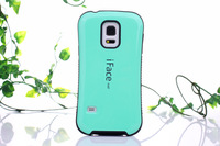 New arrival fashion design iFace Mall PC+TPU Protective Case For Samsung galaxy S5 I9600