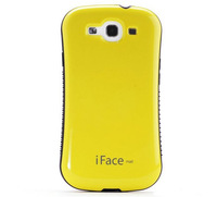 New arrival fashion design iFace Mall PC+TPU Protective Case For Samsung galaxy S3 i9300