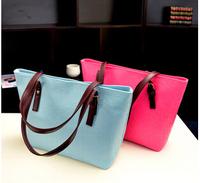 Free shipping 2015 new fashionable portable shoulder bag Messenger bag lady pu