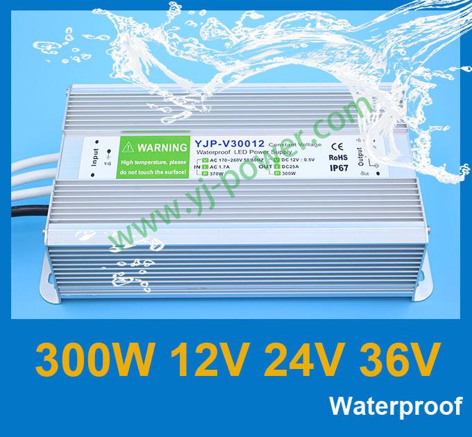 Промышленный источник питания YONGJIA POWER 12v 300w 300w 36v 24v 12v tranformador, dhl/fedex/ups YJP-V30012,YJP-V30024,YJP-V30036