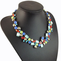 Brand Clear Cyrstal Necklace Choker Women Jewelry Statement Geometric  Fashion Women Necklace  Accessories Wholesale
