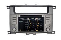 LAND CRUISER 100 Car DVD GPS With 7 Inch HD Digital Touch Screen, GPS, IPOD