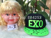 2015 new Korean version of the influx of hip-hop hat, children EXO hat hip hop baseball cap flat along