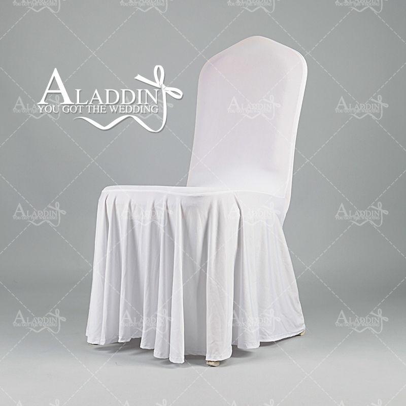 gros polyester spandex banquet chaise couvre stretch housses de chaise pour le mariage parti