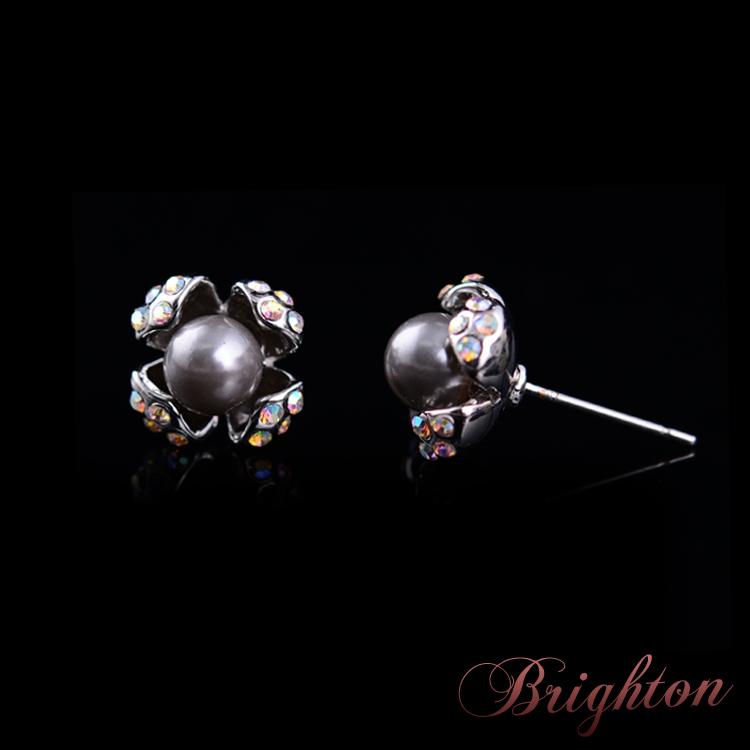 Серьги-гвоздики Brighton Shaped Aaa D21707(2680) arsenal brighton