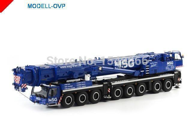 Liebherr mobile cranes 1:50 WSI LTM1500-8.1 crane model engineering model(China (Mainland))