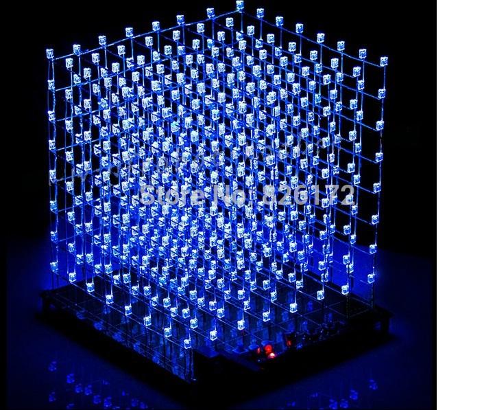 3D 8 S из светодиодов свет