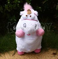 Wholesale (5pcs/lot) 16inch Despicable Me 2 Fluffy Unicorn Plush Toy Stuffed Animal Doll Kids Birthday Gift