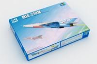 Trumpeter model 02865 1/48  MiG-21UM