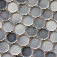 Gray&White Color Irregular Mosaic Bathroom/Kitchen/KTV/House/Hotel/Interior Wall Glass Art  Mosaic