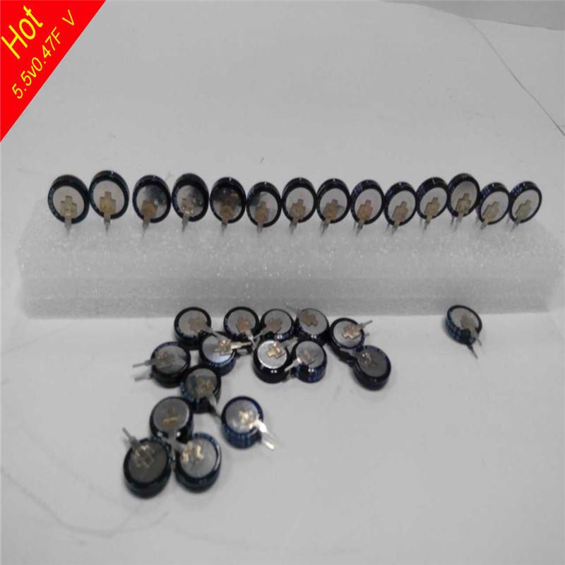 including freight costs capacitor 5.5v0.47f ultra capacitor 0.47f 5.5v farad capacitor mk new handbag(China (Mainland))