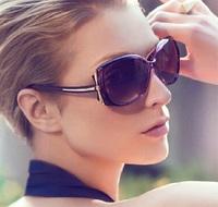 New 2015 Fashion Lepoard sunglasses women butterfly Glasses sports sunglasses Retail Free Shipping