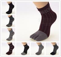 Multifuns women toe socks ankle high toe socks assorted color lady five 5 Toe Socks 5 fingers socks one pair feet care
