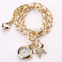 New Fashion watches! Luxury Design Elegant Women's watch women luxury brand quartz wristwatch women dress watch butterfly XR594