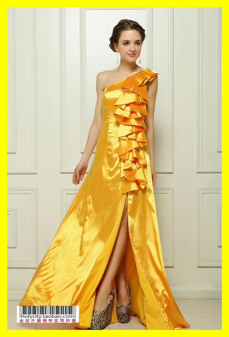 Halter Neck Dresses Sweetheart One-Shoulder Sleeveless Built-In Bra Bow A-Line Floor-Length Silk,Cotton,Lycra,Modal,Microfiber C(China (Mainland))