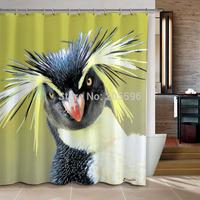 Bird bathroom curtain shower curtain terylene bath curtain 180x180cm ,screen shower,curtain bath