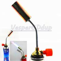 Enhanced Butane Version Gas Blow Soldering Cooking Torch Weld Gun Welding Picnic Heating  Iron Lighter Burner Fire Flame Starter