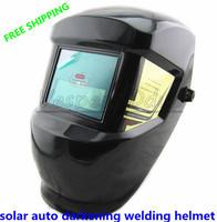 Free Shipping Auto Darkening Hading Welding Mask Helmet Welder Cap For Operate Machine and Plasma Cutter 4200