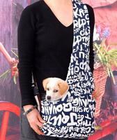 High Quality Oxford Cloth Sling Pet Dog Cat Portable Carrier Tote Single Shoulder Bag BlueWhite Size S M L Outdoor Kangaroo Back