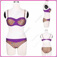 2015 Stylish Bikini Set Swimwear Halter Female Sexy Women Split Biquini Swimsuit