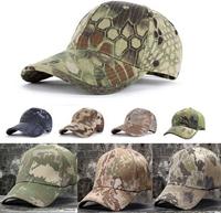New camouflage Tactical Airsoft Hunting Baseball Hat Cap outdoor Shooting Hunting Sniper Fishing Cycling Camping Hiking Hats