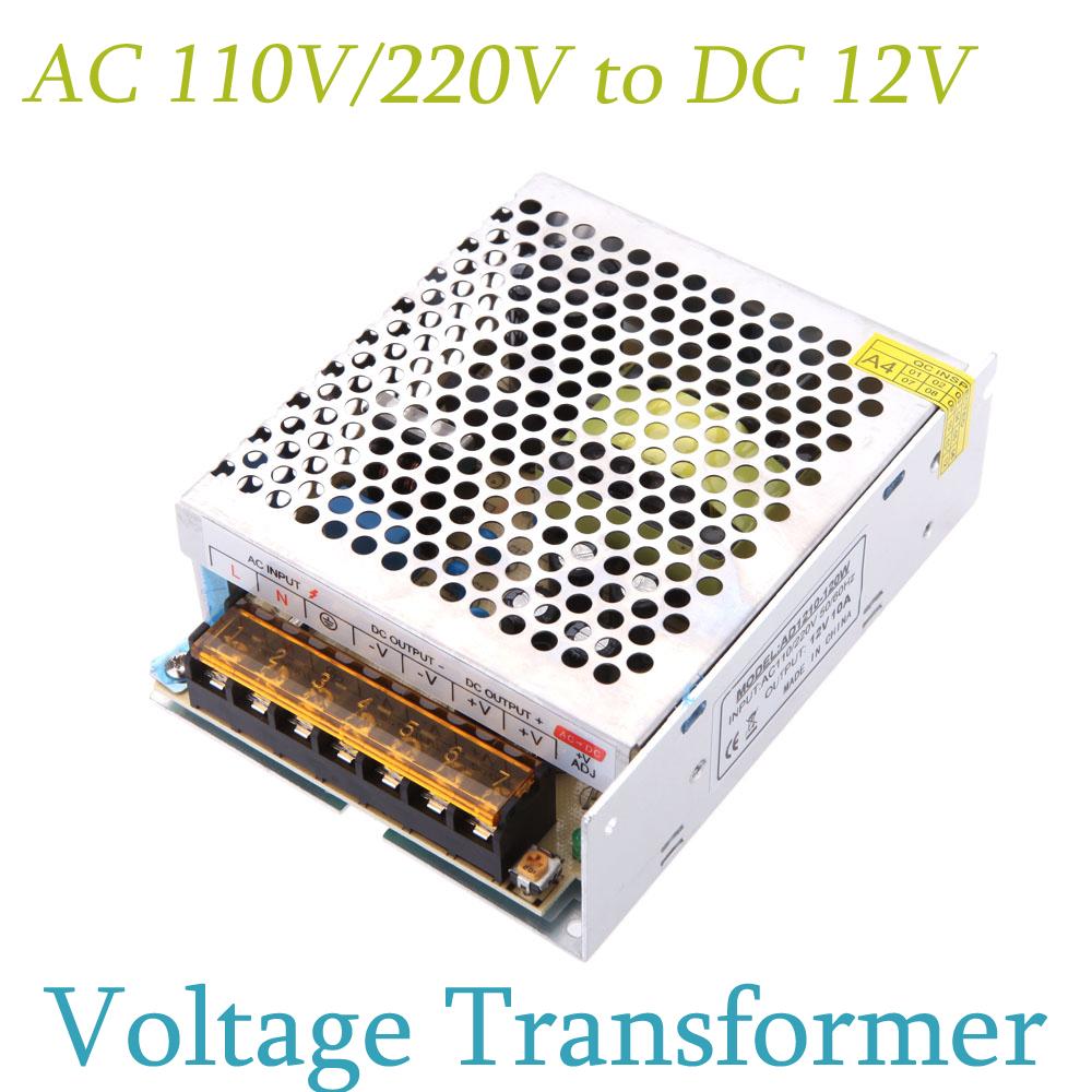 Transformator 110v 12v 12v 10a 120w 110v 220v