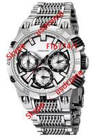Hot sales F16774/1 F16774-1 Mens Chronograph Quartz Chrono Bike Tour De France Silver Steel Bracelet Collection Watch
