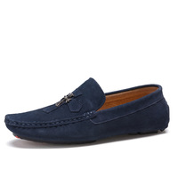 Men's Cross Casual Suede Leather Loafers Shoes