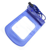 Blue Clear Waterproof Pouch Dry Bag Case for All Cellphone Mobile Phone iphone