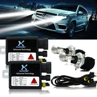 2015 quick bright start Car Hid Kit 35W 12V DC H4 HID xenon Hi/Lo Bulb bi-xenon slim ballast block headlight lamp bulb