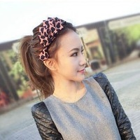 Free Shipping Min order $9 (mix order)  Heart multilayer fashion hair bands female flower petals