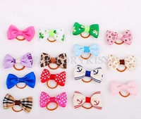 Free Shipping 5 Pcs Pet Dog Hair Clip Hair Bows Puppy Hairpin Dog Grooming Accesories