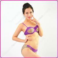 2015 New Bikini Set Halter Female Swimwear Sexy Suspenders Women Split Swimsuit Biquini Bathing suit