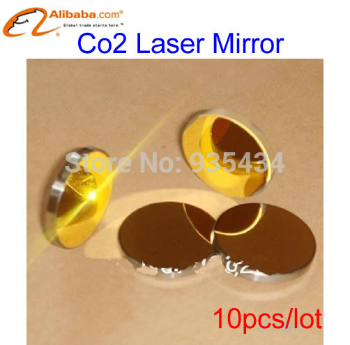 Лазерное оборудование China brand 10pcs/lot 20 Co2 K9 Model Number: 20mm stainless steel CO2 Laser Reflector usa znse co2 laser focus lens diameter 20mm focal length 50 8mm for co2 laser cutting and engraving machine