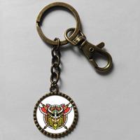 Wholesale 6$ Minnesota Vikings Keyring viking warrior Key Chain Art Cute Keychain Gift Vintage lot