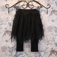 wholesale(5pcs/lot)-spring mesh lace skirt for child girl