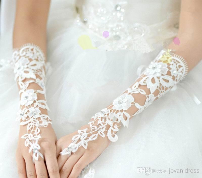 2015 свадебные перчатки мода