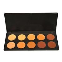 Brand New Professional 10 Color Concealer Palette Camouflage Beauty Face Powder Concealer Makeup Palette