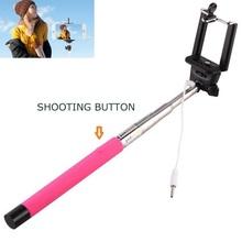 Extendable Selfie Holder Handheld Monopod Stick Telescopic Cell Phone Shooting button selfie stick for Phones Digital Camera