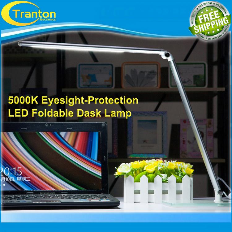 Eyesight Protection LED Reading Lamp,Foldable Desk Lamp,5000K Natural Light,3 Steps Dimming.(China (Mainland))