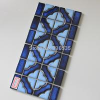 Mixed Color Decoration Pattern Square Ceramic Mosaic Bathroom/Kitchen/KTV/House/Hotel/Interior Wall Glass Art  Mosaic