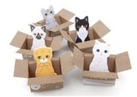 Creative Stationery Cute cat Mini  Memo Notepad N times stickers  3268AL