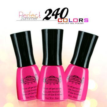 Цвет уф гель лак для ногтей идеальный летний ногтей гель 3 шт./лот замочить , с долгим сроком службы ногтей гель для ногтей горячая распродажа