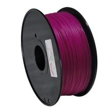 Red color environmental 3d printer filament PLA 1.75mm/3mm 1kg plastic Rubber Consumables Material