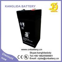 4v 4.5ah rechargeable lead acid ups battery
