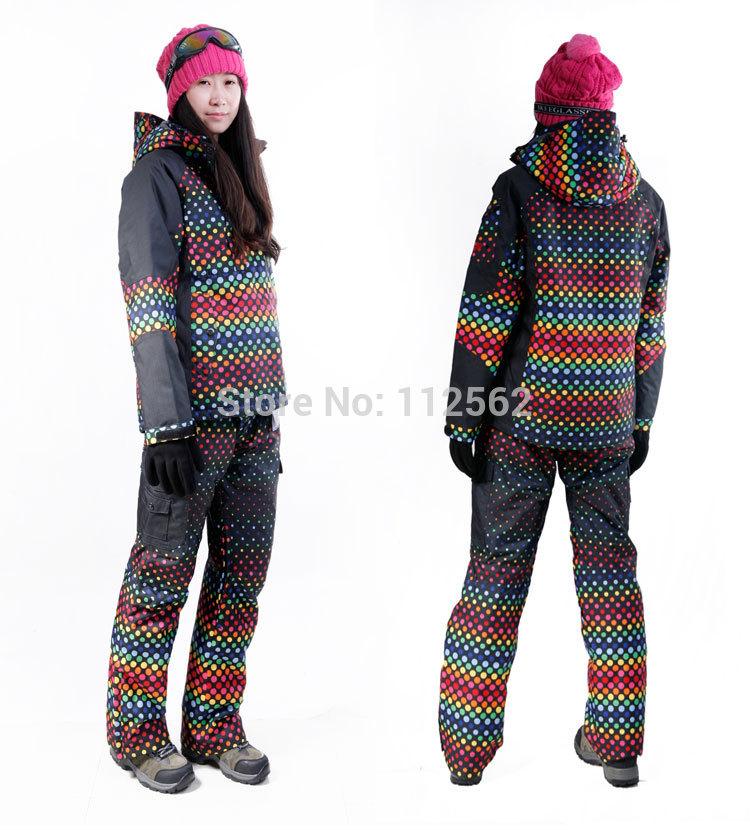 Snow Suit in Summer 2015 Womens Snow Suit /set Ski
