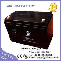 12v 100ah deep cycle lead acid agm solar battery